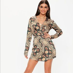 NWT Paisley Twist Front Dress